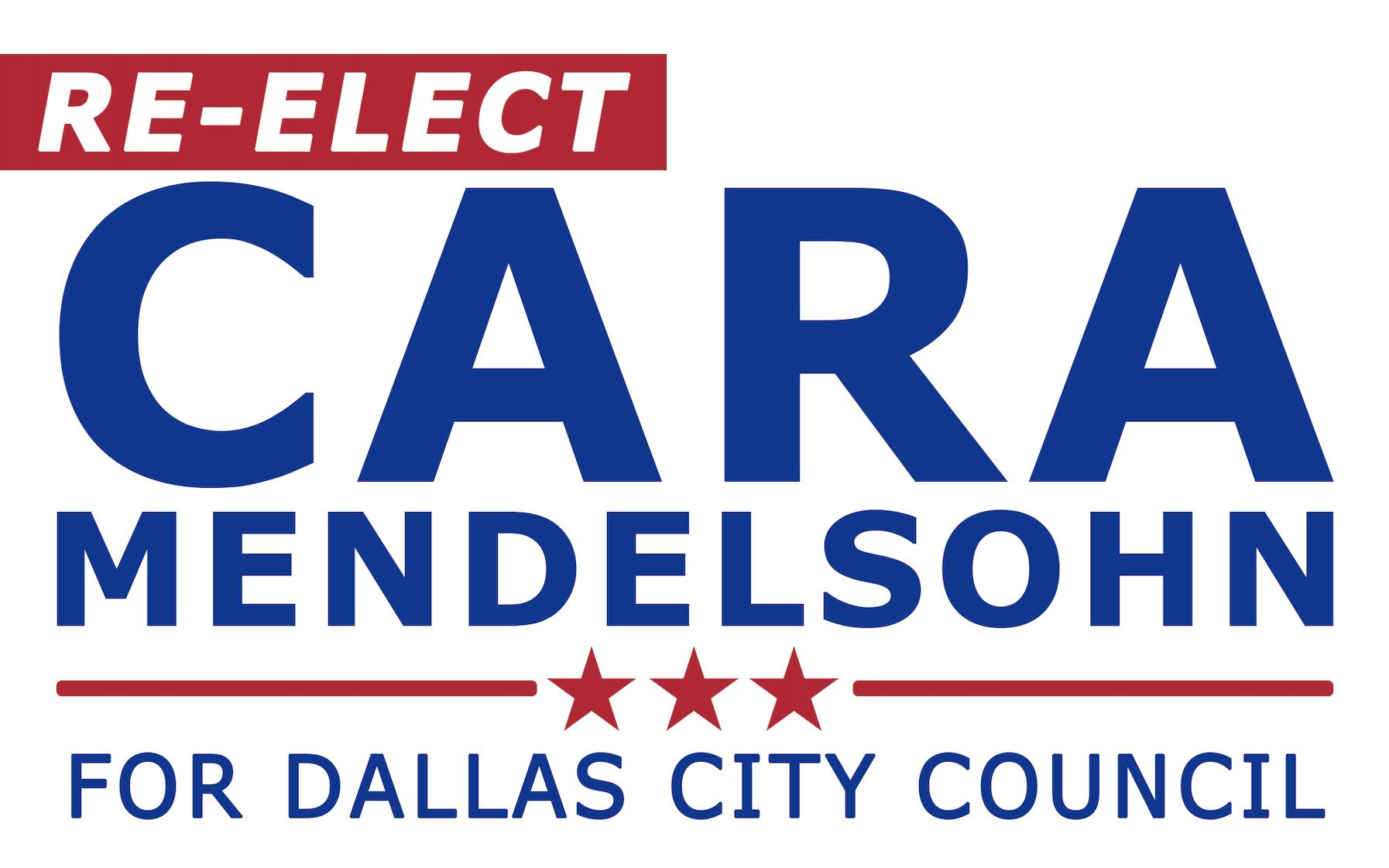Re-elect Cara Mendelsohn